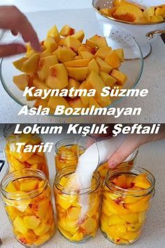 Turkish Sweets, Cooking Recipes, Healthy Recipes, Seasonal Food, Vegetable Drinks, Delicious Fruit, Turkish Recipes, Food Crafts, Sweet And Salty