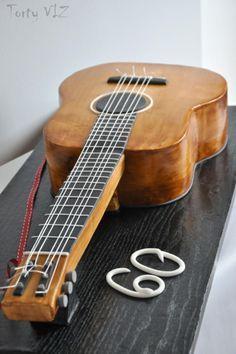Guitar - Cake by CakesVIZ