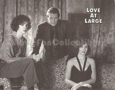 Love at Large Lobby Card Anne Archer, Tom Berenger, Elizabeth Perkins