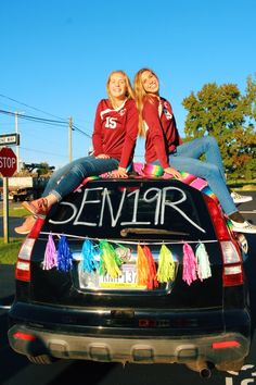 Senior class of 2016 car painting ideas | Graduation day ...