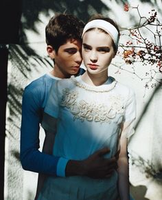 TEEN VOGUE MARCH 2007  MADE IN JAPAN   MODELS: ALI MICHAEL, HARDY  PHOTOGRAPHER…