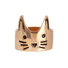 Crown Cat Ring – Meowingtons