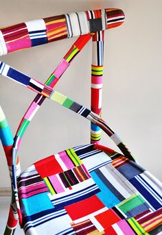 4 x colorful Thonet chairs custom order by namedesignstudio, $2,000.00