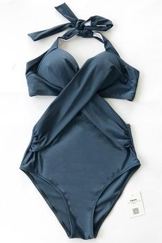 Cupshe Artistic Temperament Halter One-piece Swimsuit