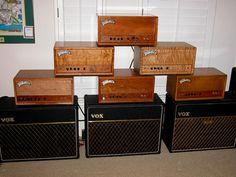 Trainwreck and Vox Amps