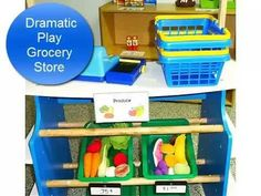 Grocery Store Pretend Play Tour