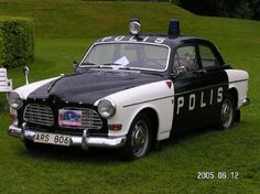 Volvo Amazon Swedish policecar