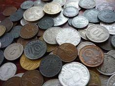 C6 Lot of Germany 10 coins 5 10 Reichspfennig - 1