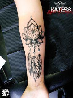 #traumfänger #dreamcatcher #lotus #flower #federn #feather