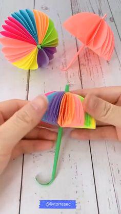 Diy Crafts For Home Decor, Diy Crafts Hacks, Diy Arts And Crafts, Easy Crafts, Paper Crafts Origami, Paper Crafts For Kids, Instruções Origami, Paper Flowers Diy, Christmas Crafts