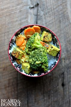 Lemongrass Curry with Broccoli + Tempeh
