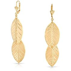 Bling Jewelry Fall Leaves Earrings ($27) ❤ liked on Polyvore featuring jewelry, earrings, dangle-earrings, yellow, yellow dangle earrings, dangle earrings, long earrings, leaf jewelry and earrings jewellery