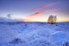 crystal sunset, West Yorkshire by Simon Higginbottom
