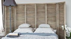 Tete de lit persienne