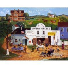 Changing Times Canvas Art - Bob Pettes (24 x 19)