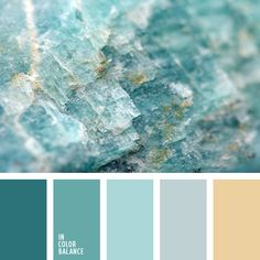 Color combination inspired by mineral stones. I have the perfect combination of Swarovski crystals that match this color palette! Scheme Color, Colour Pallette, Color Palate, Colour Schemes, Color Combos, Turquoise Color Palettes, Best Color Combinations, Beach Color Schemes, Turquoise Paint Colors