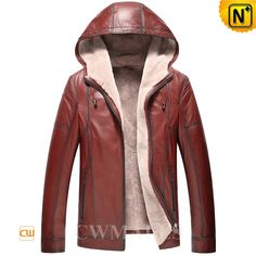 CWMALLS Classics Leather Shearling Jacket with Hood CW857168 Classics mens shearling jacket with hood crafted from genuine natural lambskin leather shell with plush lamb fur shearling lining, winter warm hooded shearling leather jacket finished supple shearling hood, full zipper closure and two side zipper pockets. www.cwmalls.com PayPal Available (Price: $1357.89) Email:sales@cwmalls.com