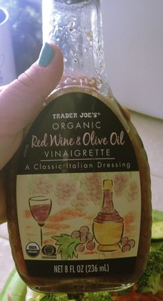 Balsamic Vinaigrette dressing from Trader Joes that has ZERO Sugar and is organic