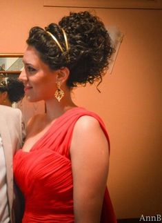 Ancient Greek hair updo