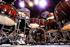 Great pic of a Yamaha Drum Kit