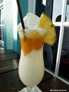 Mango Colata #Summer #Drinks #Alcohol #Mango