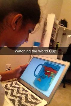 This Snapchat that the biggest sports fan EVER took. | 29 Snapchats That Are Too Clever For Their Own Good