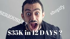 Student Makes $35 5K with Shopify in 12 Days! Make Money Online Case Study