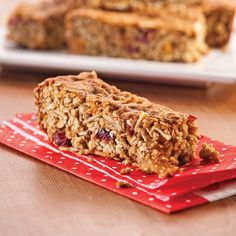 Barres tendres à l'avoine - Les recettes de Caty Meatloaf, Granola, Cake Pops, Banana Bread, Homemade, Snacks, Sweet, Desserts, Recipes
