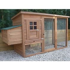 I like this chicken coop idea...