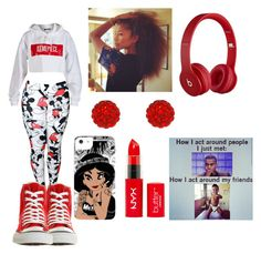 """""""May 11 2k14"""" by kaseyxoxoxo ❤ liked on Polyvore featuring Coleman, Disney, JouJou, Dimepiece, Beats by Dr. Dre and Converse"""