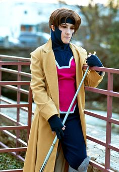 Gambit (X-Men) cosplay. now, to convince Brandon to dress up as gambit so we can have a kick ass couples costume..