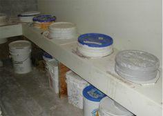 Ergonomic Glaze Storage: Save Your Back and Minimize Studio Clean-Up Time
