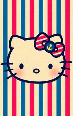 navy Hello Kitty
