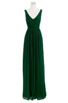 2016 Custom Charming Dark Green Prom Dress,Simple Sleeveless Evening Dress
