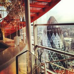 Sushi Samba - great views, but even more importantly, great sushi.