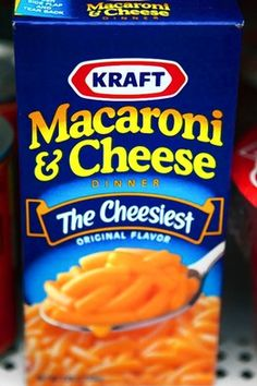 Kraft Macaroni and Cheese, favorite!