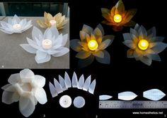25 Wunderschöne und einfache DIY-Ideen für Kerzen- und Teelichthalter, womit man sofort loslegen kann! - DIY Bastelideen