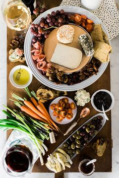 PIN FOR LATER: Learn how to build your own decadent cheese platter for your next dinner party or family holiday gathering.