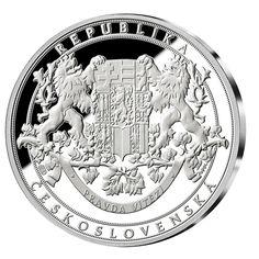 100. výročie ČSR - Pamätná medaila vyrazená do rýdzeho striebra 999/1000 v najvyššej kvalite razby. Die 100, Personalized Items, Future, Historia, Future Tense