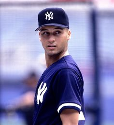 Derek Jeter--1995; young dj seriously takes my breath away