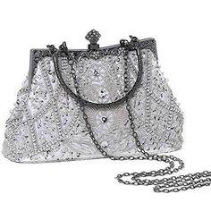 Flapper Clutch Gatsby Beaded Handbag, See Variations – White 1920s Clutch Size – 9.1 x 6.3 x 2.9 inches (L x H x W). A great accessory to match your 1920s outfit. Containing – the elegant and graceful clutch handbag is just the right size for most needed items, such as keys, card wallet, compact … Flapper Clutch Gatsby Beaded Handbag, See Variations – White yazısı ilk önce Party üzerinde ortaya çıktı.