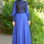 en güzel tesettür elbiseler