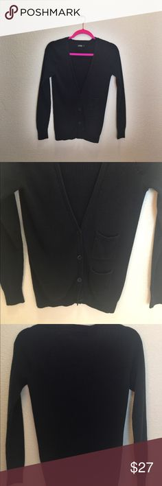 KATE SPADE Black Button Down Cardigan Lovely Kate Spade Cardigan, so easy to mix and match with jeans, pants, skirts 🤓😀😆, super sale price kate spade Sweaters Cardigans