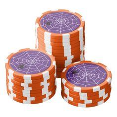 Celebrations Street - Halloween (purple) Poker Chips Set