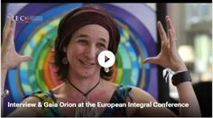Loving this interview that was done in Hungary this spring, so glad it's finally up on the web to share! #iec2016 #gaiaorion #integralart #visionaryart #artist #interview