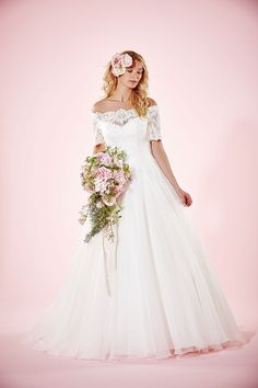 Charlotte Balbier - 2016 Willa Rose Collection   Click through to see thousands of wedding dresses