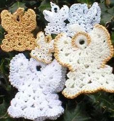 Crochet Cotton Angels