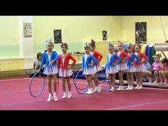 Спортивный танец. Конкурс детских садов. Ярославна Куприна. - YouTube