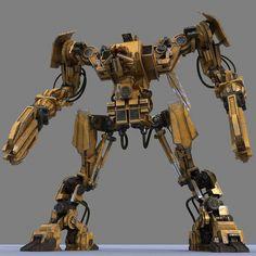 3d model robot bot http://www.turbosquid.com/3d-models/3d-model-robot-bot/644832
