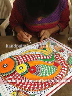 Madhubani painting Classes - Harkiran Kohli - Álbuns da web do Picasa